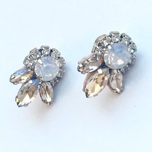 Chloe + Isabel Jolie Crystal Stud Earrings